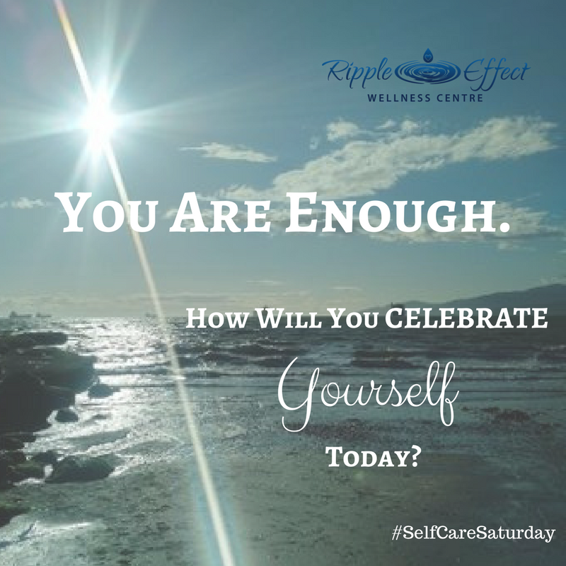 YOU ARE ENOUGH – look for the evidence!